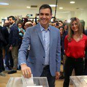Prognose: Sozialisten bei Spanien-Wahl vorne