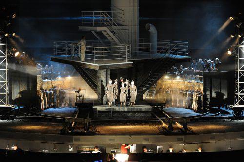 """Die szenische Erstaufführung der Oper """"Die Passagierin"""" fand im Rahmen der Bregenzer Festspiele im Sommer 2010 statt. Nun wird sie noch in Tel Aviv und Madrid aufgeführt. Apa"""