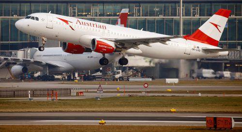 Die überfallene Maschine war eine A320 der Austrian Airlines. reuters