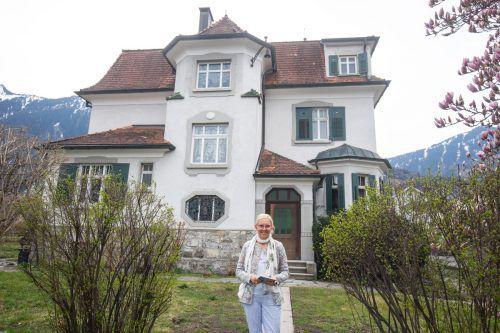 Die Villa Schatzmann soll wieder mit Leben gefüllt werden. Anja Dreier will sich mit ihrem BildungsRaum Entfaltung einmieten. VN/Hartinger