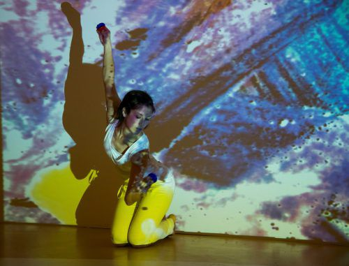 Die Vorarlbergerin Silvia Salzmann ist eine der Profi-Tänzerinnen. vn/paulitsch