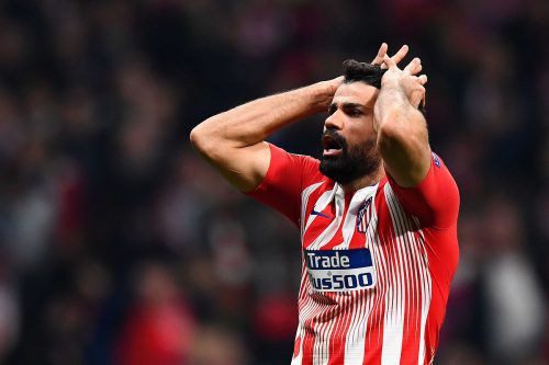 Diego Costa will die clubinterne Strafenicht akzeptieren. afp