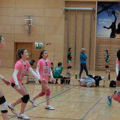 Schülerinnen-Elite im Volleyball zu Gast
