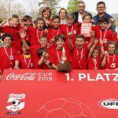FC Dornbirn gewinnt zum dritten Mal den Coca-Cola-Cup