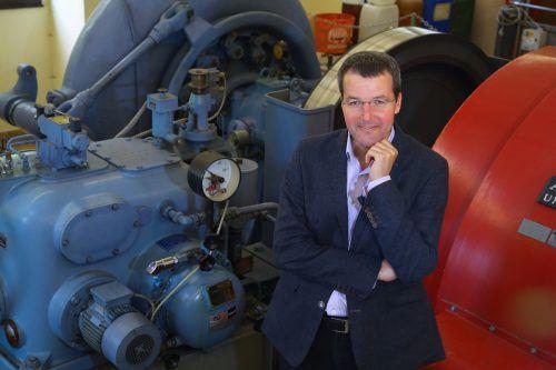 E-Werke-Chef Hartmann muss keine größeren Turbinen kaufen.VN/HB