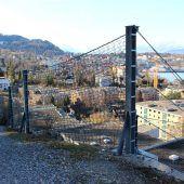 Stahlnetze sorgen für Schutz vor Steinschlag