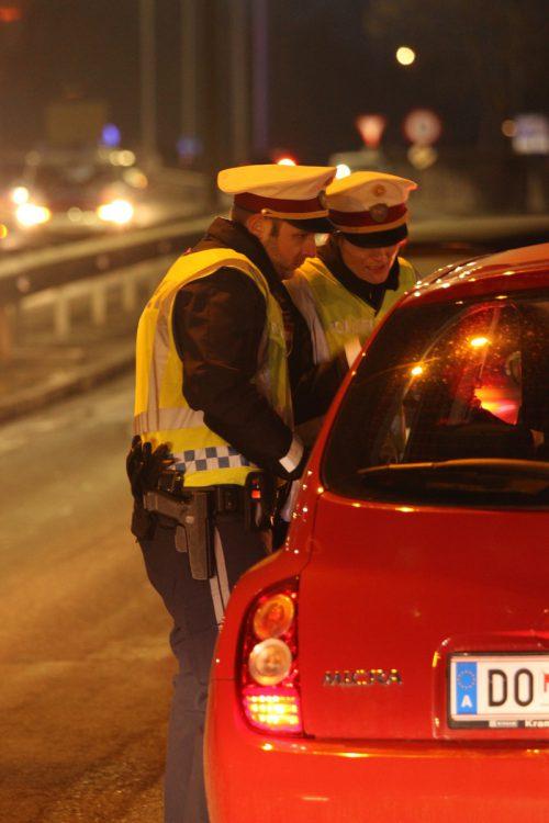 Mehrere Lenker mussten an der Weiterfahrt gehindert werden.  vol.at/Vlach