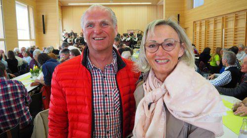 Elmar Hartmann und Monika Wurz waren aus Bregenz und Wolfurt angereist.