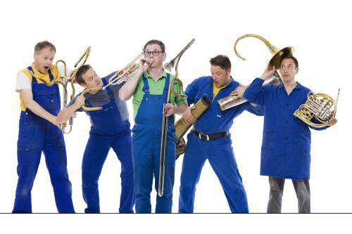Ensemble Sonus Brass spielt am Ostermontag in der Parkhalle Egg. k. Zimmermann