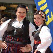 Europafest auf dem Marktplatz