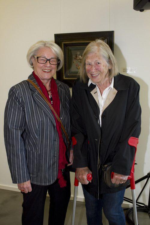 Eva Gerzabek (l.) und Anneliese Wacker.