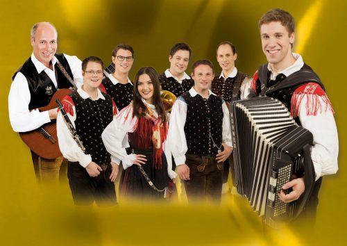 Feiern ihr zehnjähriges Bestehen: Sašo Avsenik und seine Oberkrainer. mistel musik