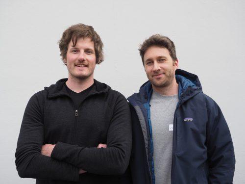 Felix Loacker (Alpin Loacker) und Christoph Blank (WEAVS).