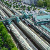 Letzte Geheimnisse sind gelüftet: Alle Fakten zum neuen Bregenzer Bahnhof. A4