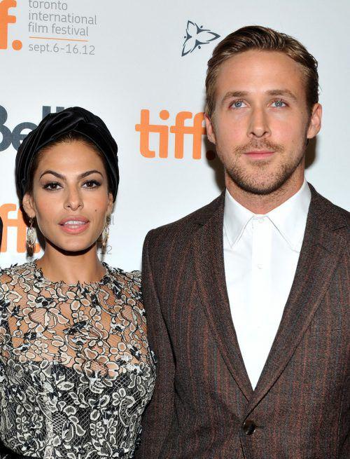 Eva Mendes und Ryan Gosling haben zwei gemeinsame Töchter. AFP