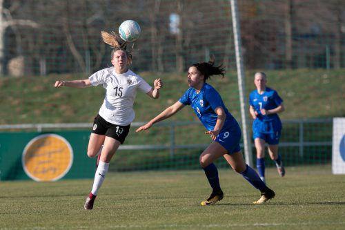 U-17-Nationalspielerin Patricia Pfanner wird am Sonntag für den FFC stürmen. GEPA