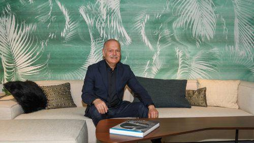 Harald Künzle liebt Design. Er ist nicht nur Geschäftsführer von Reiter Design, sondern auch Mitgesellschafter. Zudem vertritt er die Anliegen des Vorarlberger Einrichtungshandels. VN/Lerch