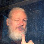Briten holten Assange