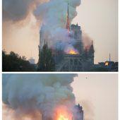 Wahrzeichen im Herzen von Paris zerstört
