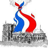 Brand vereint die Grande Nation!