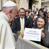 Klare Botschaft beim Papstbesuch