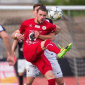 FC Dornbirn gewinnt im Elferschießen. C1