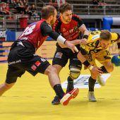 Kein Derby, aber Bregenz im Handball-Cupfinale heute gegen Krems. C1