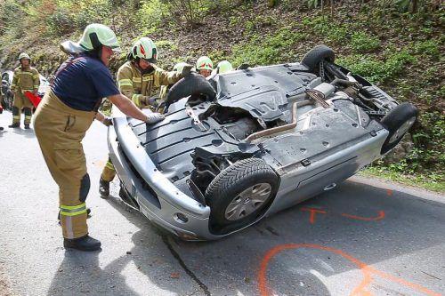 Die 33-jährige Autofahrerin, die sich mit ihrem Fahrzeug auf dem Amerlügner Weg überschlug, war laut Polizei schwer alkoholisiert. Hofmeister
