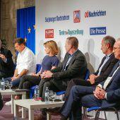 EU-Wahldiskussion der Bundesländerzeitungen. A2, 3