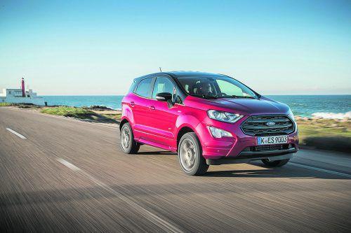 Ford EcoSport: Nach Frontantriebsstart ist der subkompakte SUV nunauch mit 4x4-Antrieb erhältlich – in Kombination mit 1,5-Liter-Diesel.