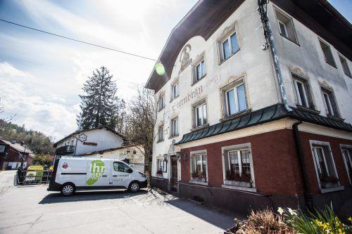 Für das Gasthaus Sternbräu, den Sternen, wurde ein Käufer gefunden. Das Gebäude wird wohl nicht mehr lange stehen. VN/Steurer