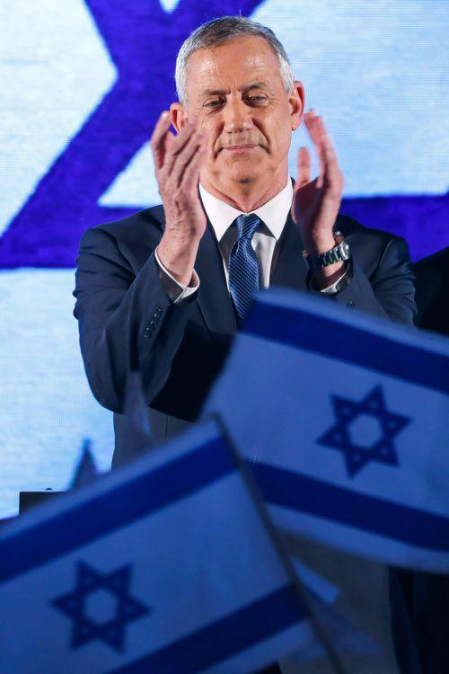 Gantz strebt grundsätzlich eine Friedensregelung mit den Palästinensern an. AFP