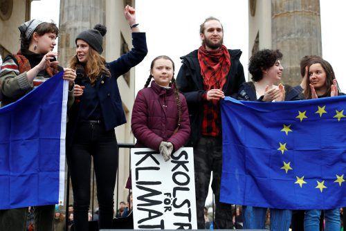 Greta Thunberg streikt seit August 2018 für mehr Klimaschutz weltweit. Ihr Protest hat inzwischen Menschen in der ganzen Welt inspiriert, freitags auf die Straße zu gehen. Reuters