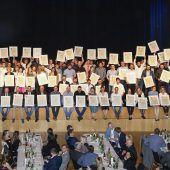 129 neue Meister im Vorarlberger Gewerbe und Handwerk
