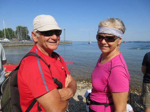 Herma und Günther Schmidt investieren gerne einen Teil ihrer Zeit in das ehrenamtliche Engagement für Blinde und Sehbehinderte.Schmidt