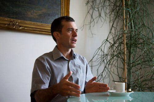 Heute ist für Bürgermeister Martin Summer der letzte Tag im Amt. Er kehrt der Politik den Rücken. vN/Paulitsch
