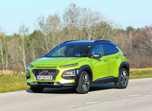 Hyundai Kona: Zwei Benziner, zwei Diesel und ein Elektriker habendie Südkoreaner für ihr SUV-Familienmitglied im Antriebsportfolio.
