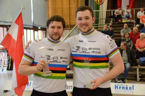 Markus Bröll (l.) und Patrick Schnetzer sind weiter eine Klasse für sich. Verein