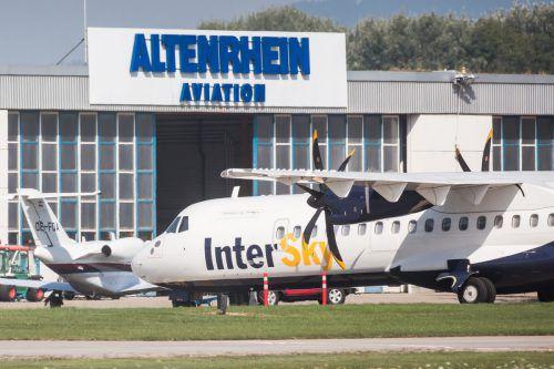 Im Jahr 2015 stellte die Vorarlberger Fluglinie Intersky den Betrieb ein.VN/Steurer