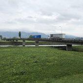 Rheinbrücke in Mäder wird saniert