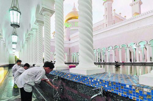 In Brunei sind islamische Kräfte seit einigen Jahren auf dem Vormarsch. AFP