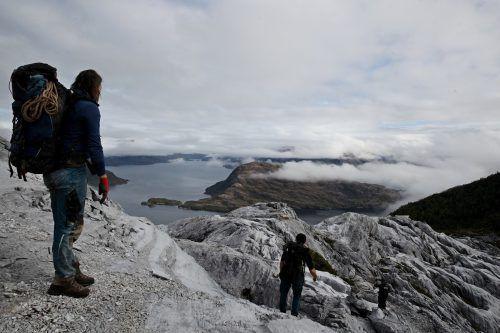 In Patagonien (Südchile) sind die Gletscher geschrumpft und haben zum Steigen des Meeresspiegels beigetragen. AFP