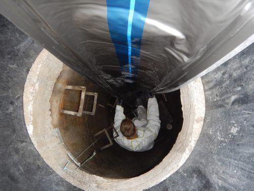 In Rankweil wird laufend an der Sanierung des Kanalnetzes gearbeitet. Marktgemeinde