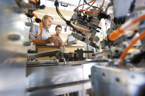 Industrie 4.0 wird bei Blum nicht nur in der Produktion aktiv gelebt.
