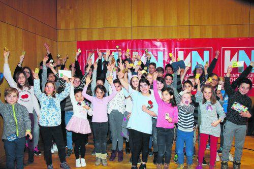 Insgesamt 41 Mannschaften aus 25 verschiedenen Schulen mit 216 Mädchen und Burschen zwischen sechs und 19 Jahren beteiligten sich am Landesfinale im Schulschach in Altach.Müller