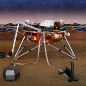 NASA-Sonde hat erstmals Mars-Beben aufgezeichnet