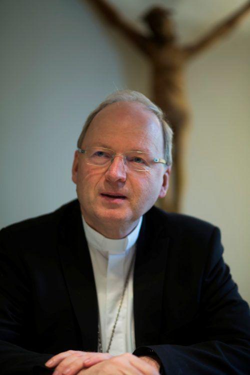 """""""Jede Katastrophe führt auch zu Solidarität"""", sagt Benno Elbs. VN/Paulitsch"""