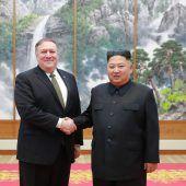 Atomgespräche will Kim künftig ohne Pompeo führen