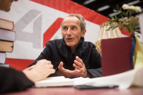 Johannes Bröckers kritisiert die Datensammelwut von Internetgiganten. VN/Steurer