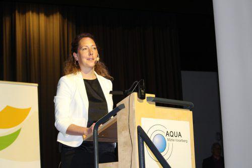 Judith Pühringer äußerte kritische Worte zum Ziel Vollbeschäftigung.heilmann